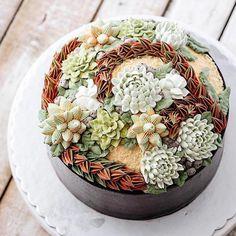 Les patisseries en forme de succulents de Ivenoven  2Tout2Rien