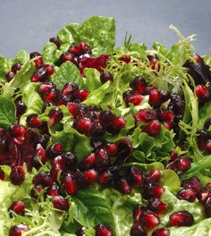 Pomegranate salad/coleslaw