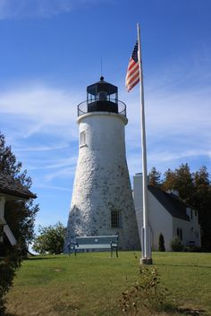 Presque Isle Lighthouses: The Old Presque Isle Lighthouse - A Brief History