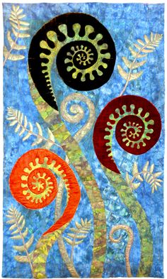 Picture  Beautiful art quilts!