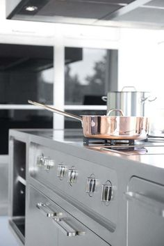 Küche Abimis prisma modernes design edelstahl material