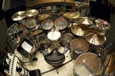 Dave Lombardo's kit. One of the biggest influences on my own playing