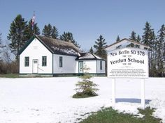 The heritage value of the Verdun School lies in its association with the experience of a German settlement west of Duhamel and as an excellent representation of the one-room schoolhouses of rural Alberta.     German immigrants arrived in the area from the eastern United States in the 1890s, and a school for grades one to eight was built in 1902.