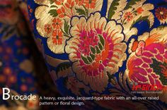 Royal and Rich Brocade fabric