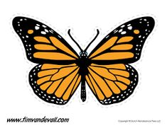 Brighten up your art crafts with these free printable butterfly templates. Print these butterfly shapes onto colored construction paper. Butterfly Books, Butterfly Clip Art, Butterfly Images, Butterfly Template, Butterfly Painting, Butterfly Pattern, Printable Butterfly, Purple Butterfly Tattoo, Purple Butterfly Wallpaper