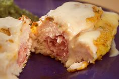 Easy Chicken Cordon Bleu.