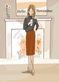 Hello November #HelloAutumn #Autumn #Months