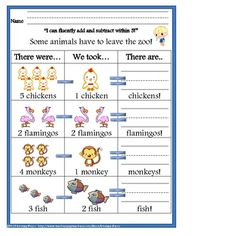 This 37 page unit is designed around the Kindergarten Common Core Standards for Operations and Algebraic Thinking and Counting and Cardinality. Included are standards posters, counting pages and skills practice pages. Laminate the counting pages and use for stations or review!