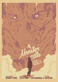 A Monster Calls Alternative Movie Poster Poster Illustration