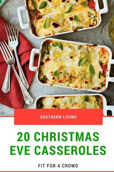 20 Christmas Eve Casseroles Fit For Crowd