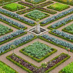 Le Potager | Château et jardins de Villandry
