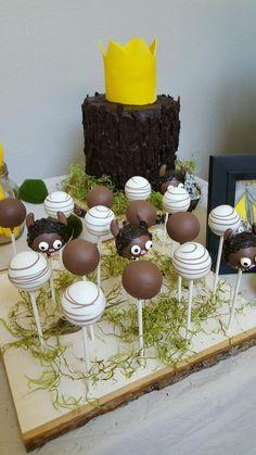 Where the wild things are! Cake pops! Bitesbybrandi@gmail.com @Bitesbybrandi