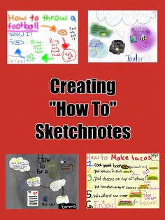 "Sketchnoting – ""How To"" Sketchnotes 