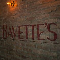 Bavette's Bar and Boeuf-218 W Kinzie St. Chicago Near North Side, River North 312-624-8154