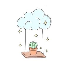 Good Images cactus plants drawing Strategies Succulents plus cactus will be the. - Good Images cactus plants drawing Strategies Succulents plus cactus will be the excellent household - Cute Easy Drawings, 3d Drawings, Kawaii Drawings, Doodle Drawings, Doodle Art, Easy Drawing Pictures, Simple Tumblr Drawings, Cactus Drawing, Plant Drawing