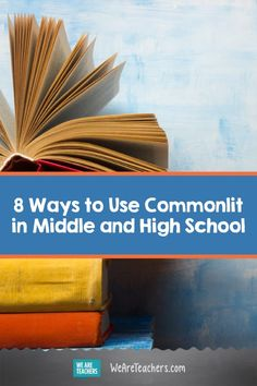 8 Ways to Use Commonlit in Middle and High School. Commonlit is a free digital library for middle and high school students. Here are 8 teacher-tested ways to use it in the classroom. Middle School Reading, Middle School English, Middle School Teachers, High School Students, Interactive Student Notebooks, Reading Themes, Differentiated Instruction, Literacy Skills, Math Lessons