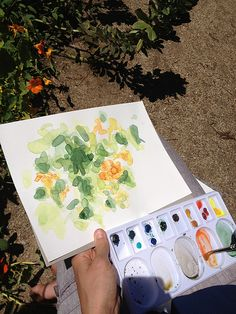 dawn tan | Outdoor Painting at Heide Museum Outdoor Painting, Plastic Cutting Board, Dawn, Public, Museum, Paintings, Handmade, Painting Art, Painting
