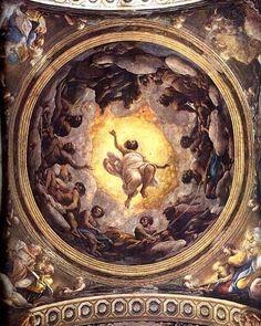 1. Correggio Saint John's Vision on Patmos 1520-1522 Church of Saint John the Evangelist Parma #correggio #essay #Paris (inspired by J. Shearman 1980)