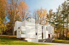 NaCl Villa Wohnhaus-im Herbst-Wald