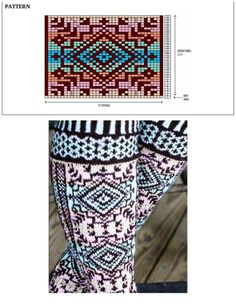 Selbustrikk+S.Anderson-Freed Colorwork Creations: 30 Patterns to Knit Gorgeous Hats, Mittens and Gloves+Swedish Handknits Crochet Socks Pattern, Loom Knitting Patterns, Knitting Videos, Knitting Charts, Crochet Chart, Knitting Designs, Knitting Tutorials, Crochet Granny, Stitch Patterns