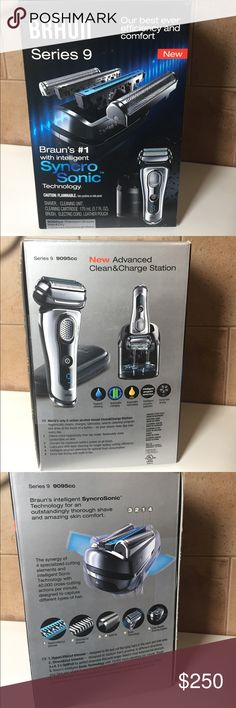 BRAUN Series 9 -Men's Premium Wet & Dry Shaver NWB Never used. Bought for my boyfriend, set it up for him, and he didn't want it. Make all REASONABLE offers, using the Offer button. Braun Other