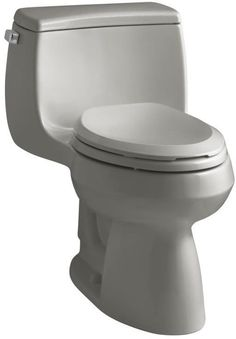 Kohler K-3615 Gabrielle 1.28 GPF One-Piece Elongated Comfort Height Toilet with