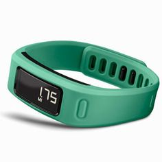 """Our Favorite Fit Tech of 2014: Garmin's new vivofit tracks your steps, calories, sleep and heart rate, yes, but with one additional, brilliant feature: It """"learns"""" how much you typically move, so that each day it can give you a personalized, realistic calorie burn or step goal. #SelfMagazine"""