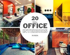 Top 20 Small Office Interior Designs In India Changing The Perspective Of Typical Work Environment - The Architects Diary