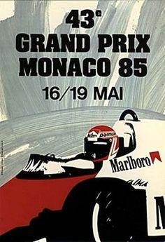 1985 GP de Mónaco en Montecarlo