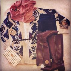 Cutest #SweaterWeather outfit for the #Holiday season! #OOTD #ForeverHoliday