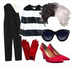 Sexy Cruella De Vil  Disfraz muy fácil para un halloween en el que te quieres ser una malvada y muy fashionista Cruella de Vil