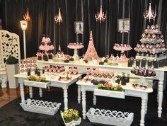 др в стиле париж festa paris, Paris Themed Birthday Party, Paris Party, 15th Birthday, Spa Birthday, Sweet 16 Parties, Pink Parties, Paris Sweet 16, Chanel Party, Paris Decor