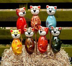 Katze klein Katzenbaby Keramik Gartenstecker Gartendekoration Beetstecker Figur Euro:13.80 http://stores.ebay.de/Lydia-s-Wohn-Garten-Ambiente_Garten-und-Terasse_W0QQfsubZ253412019