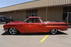 1960 CHEVROLET EL CAMINO CUSTOM PICKUP - Barrett-Jackson Auction Company - World's Greatest Collector Car Auctions