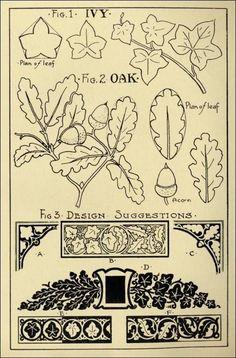 carving pattern oak - Поиск в Google