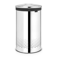 Кош за пране 60 L Brabantia Brilliant Steel