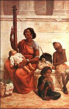 Gypsies - Raja Ravi Varma (1893)
