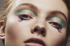 Photographer Mike Blackett and makeup artist Scarlett Burton team up for Hunger to shoot Georgie Hobday for their latest beauty story.