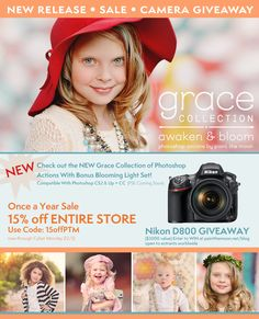 Grace Photoshop Actions - Awaken and Bloom