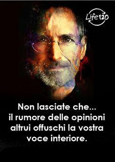 No deje que el ruido de las opiniones de los demás ahogue su propia voz interior.