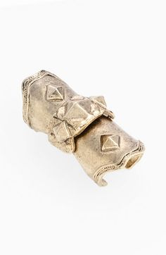 Low Luv 'Armour' Knuckle Ring available at #Nordstrom