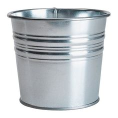 Ikea Galvanized Plant Pot, Pack of 3, Silver IKEA https://www.amazon.com/dp/B00J1QDNX0/ref=cm_sw_r_pi_dp_x_hJrRxbWTY553F