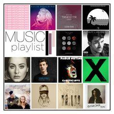 """Music Playlist | January 2016."" by misskarolina ❤ liked on Polyvore featuring art and musicplaylist"