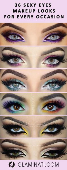 36 SEXY EYES MAKEUP LOOKS FOR EVERY OCCASION