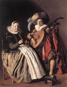 the Duet, 1630 - Jan Miense Molenaer - WikiArt.org