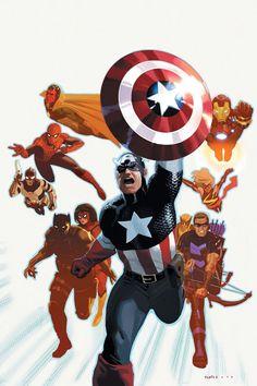 Avengers by Daniel Acuna