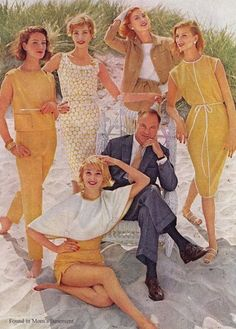 Fashion images from 1960