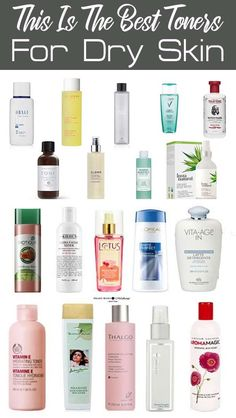Best Toner For Oily Skin No Alcohol Can Buy - What is facial toner? A facial toner essentially completes your cleansing program. It removes. Best Toner For Acne, Best Facial Toner, Toner For Face, Dry Skin On Face, Oily Skin Care, Sensitive Skin, Oily Face, Best Drugstore Toner, Womens Fashion