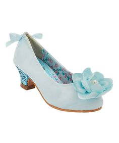 Look at this China Doll Light Blue Daisi Pump on #zulily today!