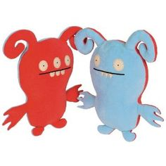 UglyDoll Classic Turny Burny, Blue and Pink